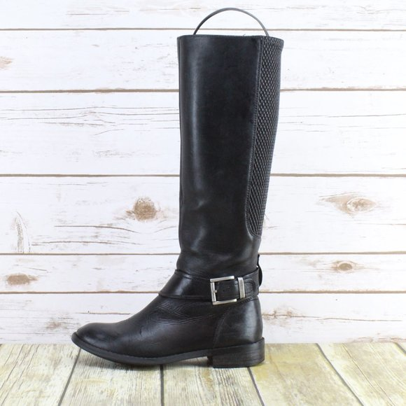CLARKS Tall Stretch Calf Riding Boots Size 5.5